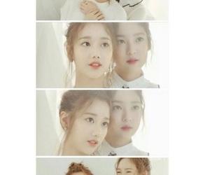 april, naeun, and yena image
