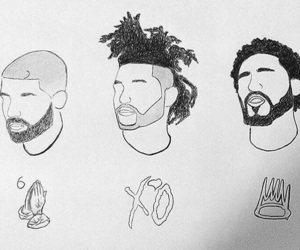 Drake, j.cole, and the weeknd image