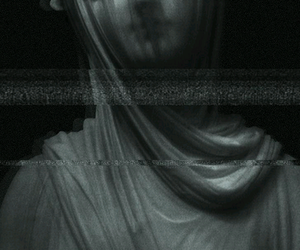 creepy, wallpaper, and Darkness image