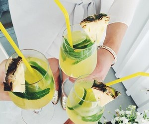 drink, theme, and green image