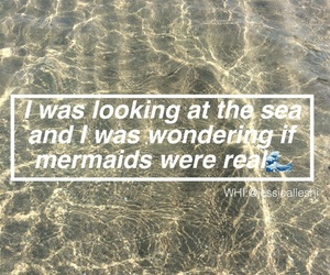mermaids, quote, and quotes image