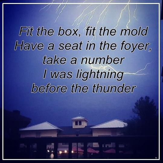 Lyrics, thunder, and imagine dragons image