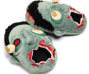zombie and slippers image