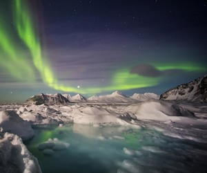 artic, norway, and polar image