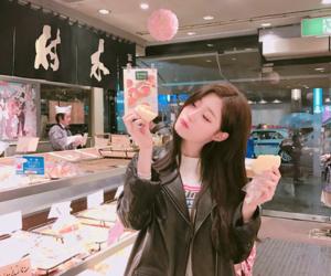 asian girl, korean girl, and chaeyeon image