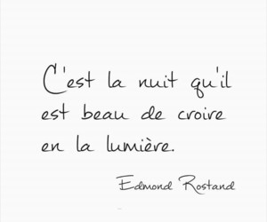 citation, texte, and edmond rostand image