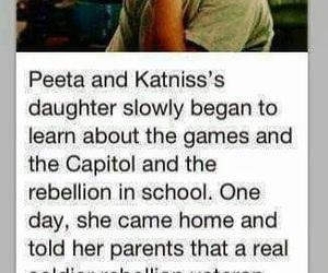 hunger games, sad, and katniss image