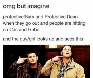 dean, gabriel, and Sam image
