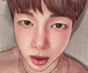 fanart, rm, and bts image