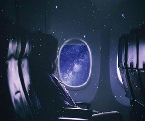 blue, Flying, and imagine image