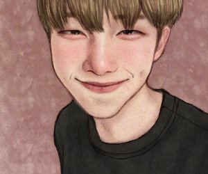 fanart, rap monster, and rm image