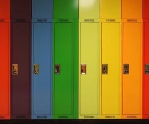 rainbow and vintage image