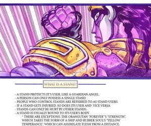 jojo's bizarre adventure, stardust crusaders, and star platinum image