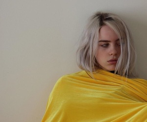 billie eilish and yellow image
