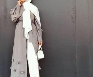 hijab, love, and stylehijab image