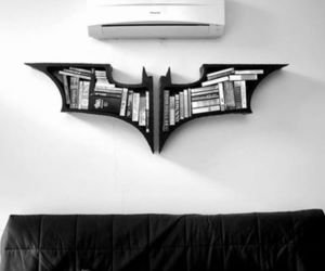 batman, book, and black and white image