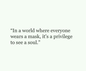 quotes, soul, and mask image