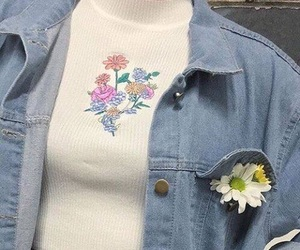 flowers, fashion, and aesthetic image
