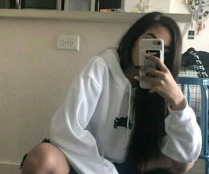 girl, maggie lindemann, and hair image