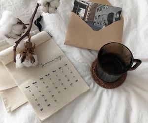 aesthetic, coffee, and white image