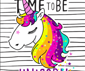 unicorn, wallpaper, and colors image