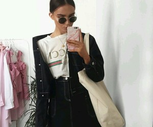 girl, fashion, and gucci image