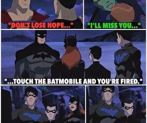 batman, robin, and superman image