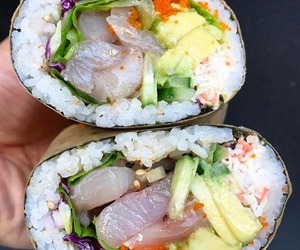 fish, miam, and nourriture image