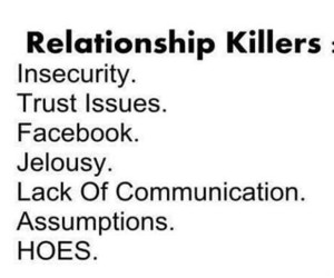 Relationship, hoes, and facebook image