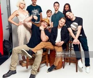 cast, Gotham, and richards image
