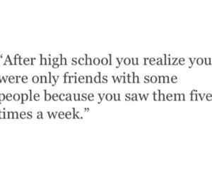 friends, high school, and true image
