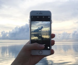 iphone and photo image