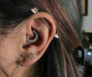 piercing and earrings image