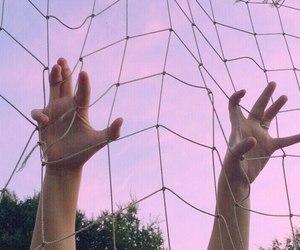 hand and sky image