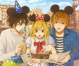 death note, anime, and kawaii image
