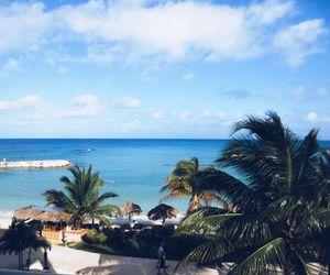 beach, Island, and fiji image