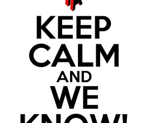 keep calm, music, and poster image