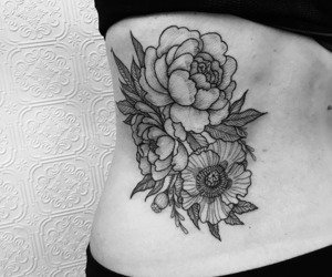 cool, flowers, and ribs image