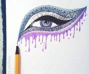 art, drawing, and shapes image