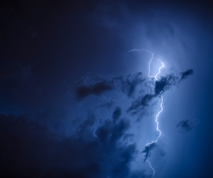 blue and storm image