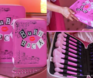 burn book, girly, and makeup image