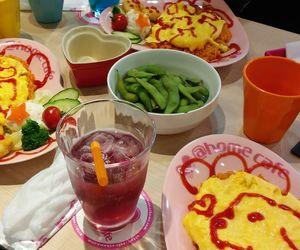 omurice, oishii, and japan image
