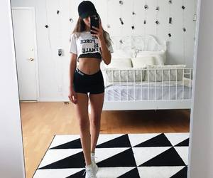 abs, black, and fashion image