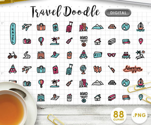 etsy, daily planner, and travel planner image