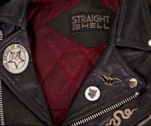 grunge, jacket, and leather image