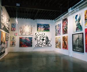 art, colors, and gallery image