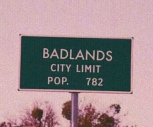 badlands, halsey, and pink image