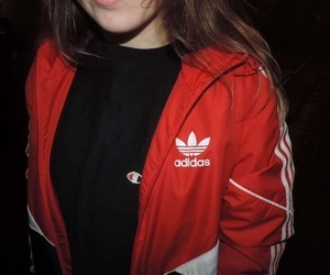 adidas, red, and champion image