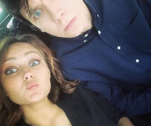 asa butterfield and ella purnell image