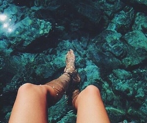 blue, ocean, and tumblr image
